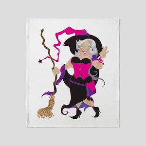Granny Hex Throw Blanket