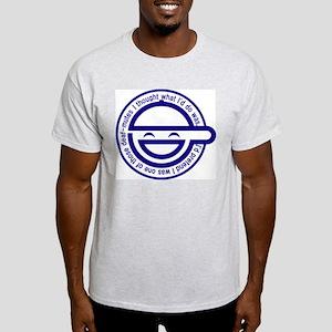 Warai Otoko Ash Grey T-Shirt