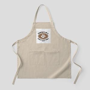 Bassetoodle dog BBQ Apron