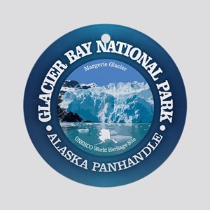 Glacier Bay National Park Round Ornament