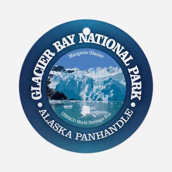 Glacier Bay National Park Round Ornament