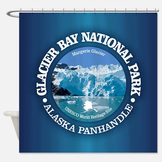 Glacier Bay National Park Shower Curtain