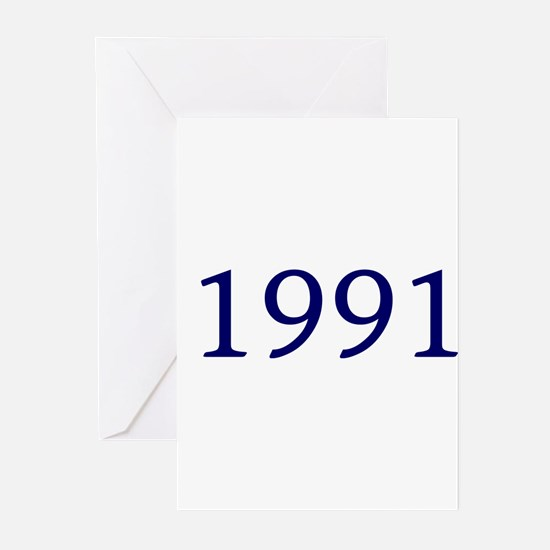 1991 Greeting Cards (Pk of 10)