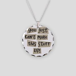 Stuff Up! - Necklace Circle Charm