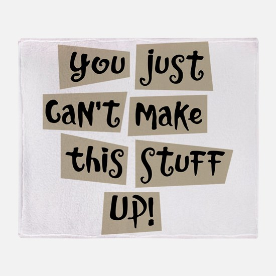 Stuff Up! - Throw Blanket