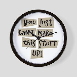 Stuff Up! - Wall Clock