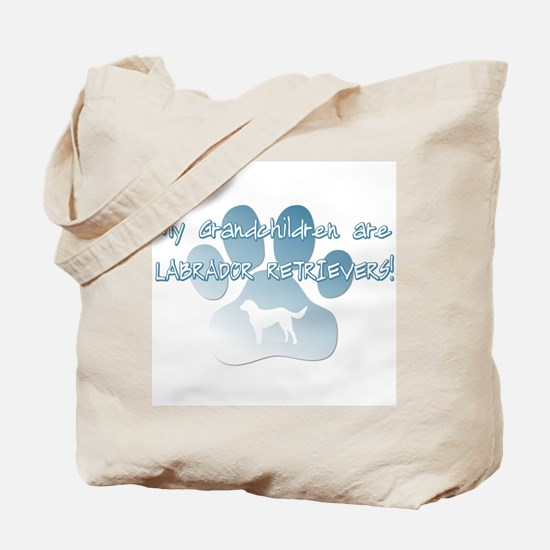 Labrador Grandchildren Tote Bag
