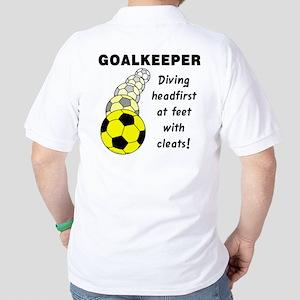 Soccer Goalkeeper Golf Shirt