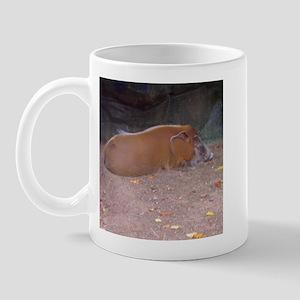 red river hog Mug