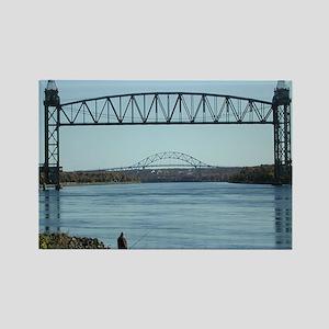 Cape Cod Canal Bridges Magnets