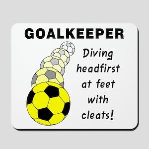 Soccer Goalkeeper Mousepad