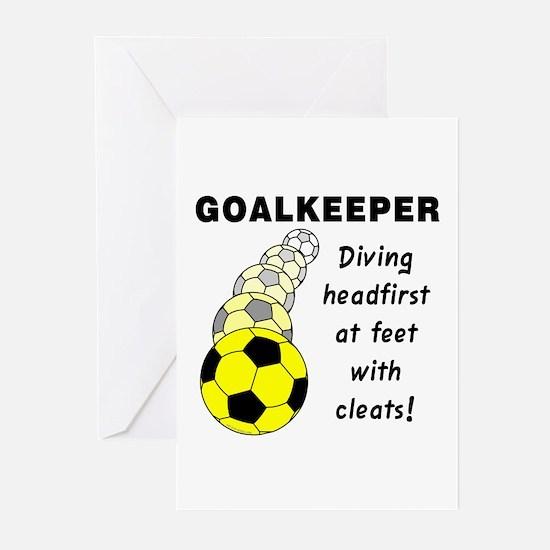 Soccer Goalkeeper Greeting Cards (Pk of 10)