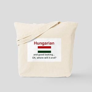 Good Looking Hungarian Tote Bag