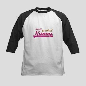 Worlds Greatest Nanny Baseball Jersey