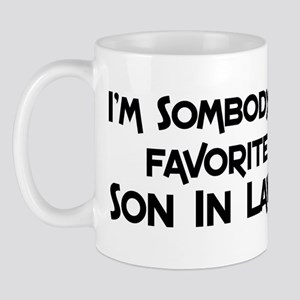 Favorite Son In Law Mug