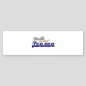 Worlds Greatest Pop-pop Bumper Sticker