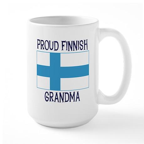 Proud Finnish Grandma Large Mug