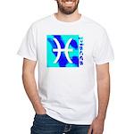 Pisces White T-Shirt