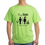 Go Both Ways Green T-Shirt