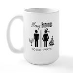 Go Both Ways Large Mug