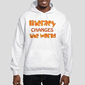 Reading Literacy Hooded Sweatshirt