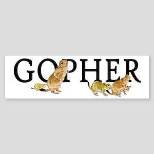 GOPHER Bumper Sticker