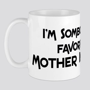 Favorite Mother In Law Mug