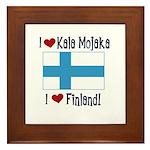 Finland and Kala Mojaka Framed Tile