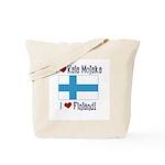 Finland and Kala Mojaka Tote Bag