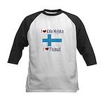 Finland and Kala Mojaka Kids Baseball Jersey
