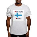Finland and Kala Mojaka Ash Grey T-Shirt