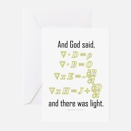 """""""Let There Be Light"""" Greeting Cards (Pk of 10)"""