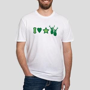 I Love StarBucks Fitted T-Shirt