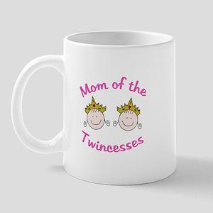 Mom of Twincesses Mug