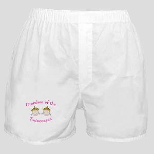 Grandma of Twincesses Boxer Shorts