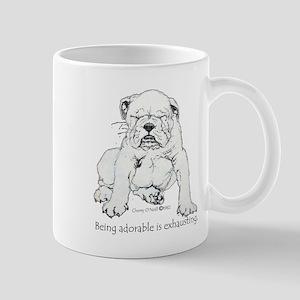 Bulldog Puppy Mugs