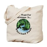 Christmas Peas Tote Bag