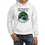 Christmas Peas Hooded Sweatshirt