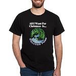 Christmas Peas Dark T-Shirt