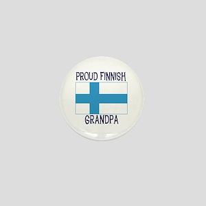 Proud Finnish Grandpa Mini Button