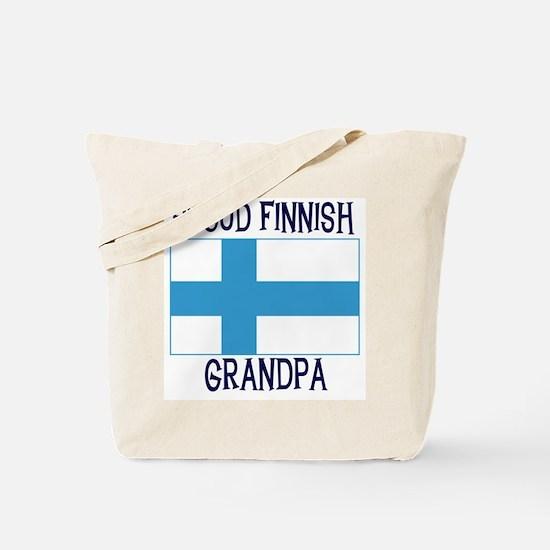 Proud Finnish Grandpa Tote Bag