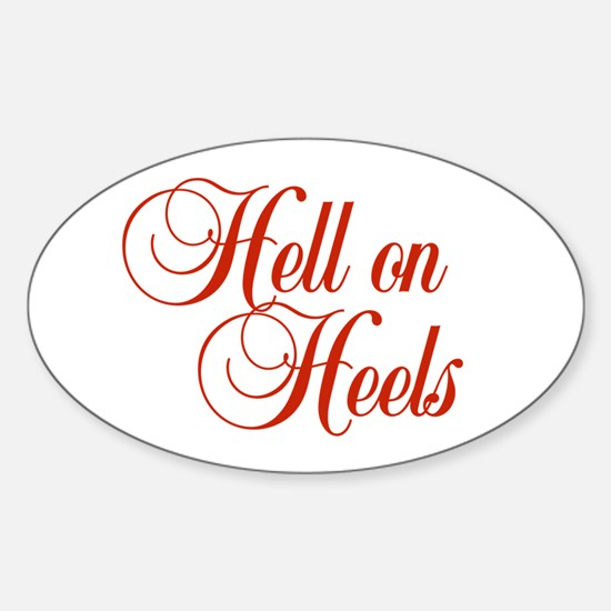 Hell on Heels Decal