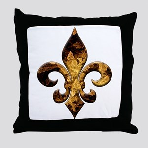 Fleur Vintage Fleur Throw Pillow