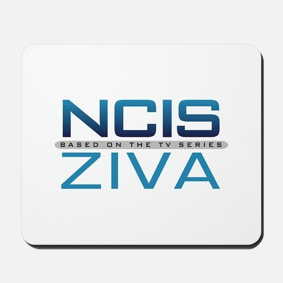 NCIS Logo Ziva Mousepad