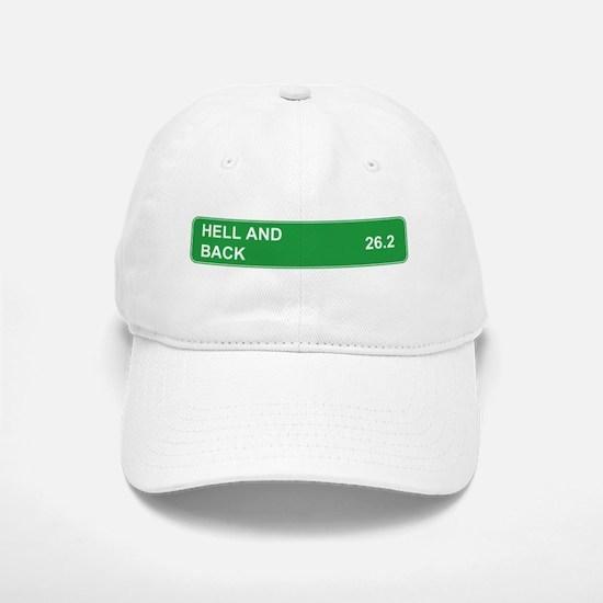 Hell and Back Marathon Baseball Baseball Cap