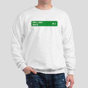 Hell and Back Marathon Sweatshirt