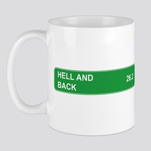 Hell and Back Marathon Mug