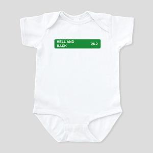 Hell and Back Marathon Infant Bodysuit