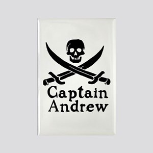Captain Andrew Rectangle Magnet
