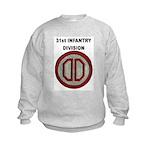 31ST INFANTRY DIVISION Kids Sweatshirt